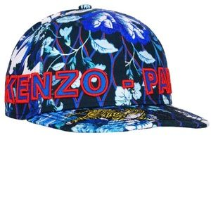 Kenzo x H&M printed and embroidered hat